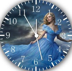 Disney Cinderella wall Clock 10 will be nice Gift and Room wall Decor E24