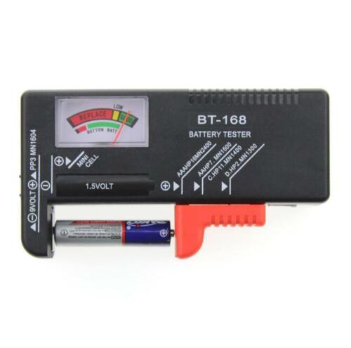 BT-168 Battery Universal Button Cell Battery Meter Indicate Volt Tester Checker