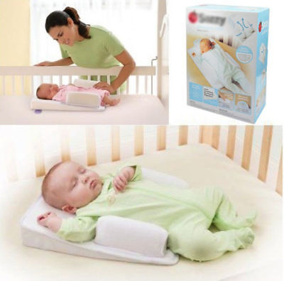 Infant Anti Roll Cushion Baby Prevent Flat Head Positioner Pillow Newborn