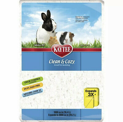 Kaytee Clean & Cozy White Small Animal Bedding, 49.2L (( Free Shipping ))