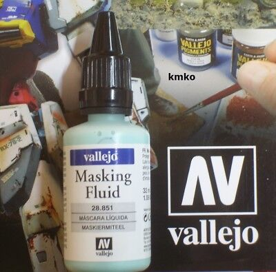 Vallejo 28851 Model MaskingFluid Maskiermittel Latex flüssig 32ml 23,13 €/100ml
