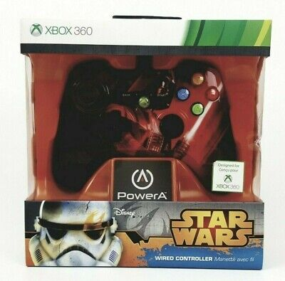 Darth Vader Star Wars Xbox 360 game controller NEW InBOX *LIMITED COLLECTOR ED*