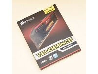 CORSAIR Vengeance Pro Red DDR3 2400 MHz PC RAM - 4 GB x 2