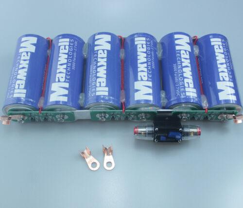 Maxwell 2.7V 3000F Supercapacitor Ultra Capacitor 3000f Farads BCAP3000 #4911 ZX