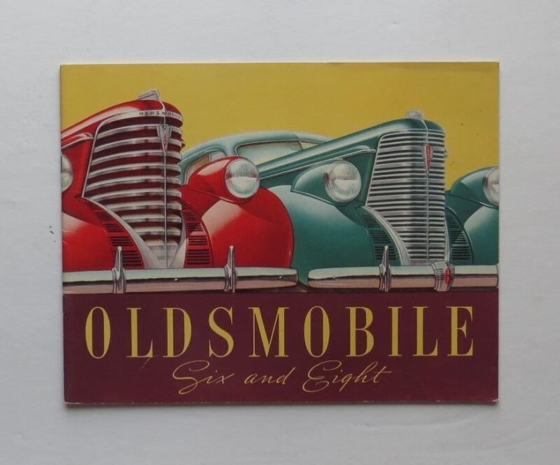 1937 Oldsmobile Brochure Six Eight