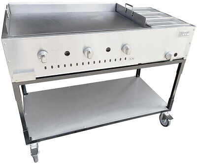 New. 48 Taco Cart Griddle Plate W Steam Lp Reg Inserts Made In Usa By Ekono