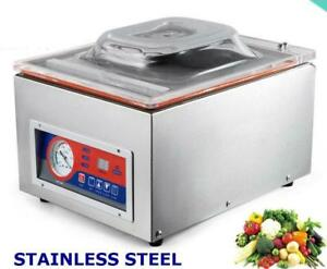 120W 22 Commercial Vacuum Sealer Food Sealing Machine Bar Hydraulic 110V - BRAND NEW - FREE SHIPPING