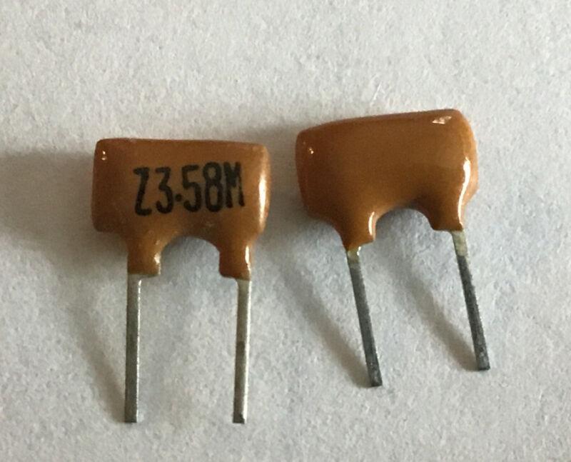 100 PCs 5mm Pitch 3.58 MHZ Fm Ceramic Filter