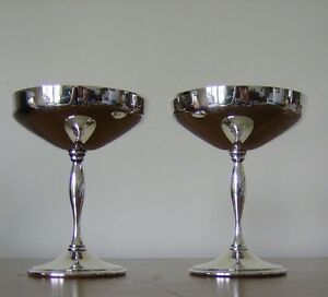 Vintage Silver Plate Champagne Coupes (1970s) Kingston Kingston Area image 2