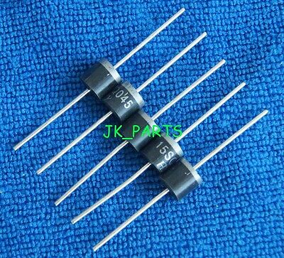 10pcs 15sq045 15a 45v Schottky Rectifiers Diode Brand New R-6