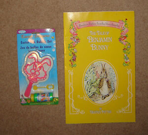Beatrix Potter Large Book and new Bubble Set