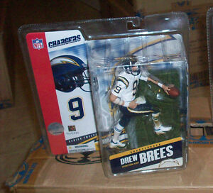 McFARLANE NFL 12 DREW BREES SD CHARGERS FOOTBALL