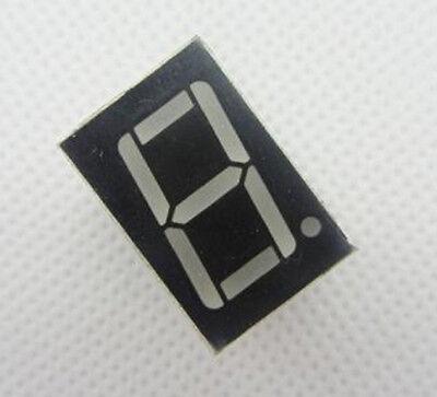 10pcs 1bit 1 Bit Common Anode Digital Tube 0.56in. Red Led Digit 7 Segment