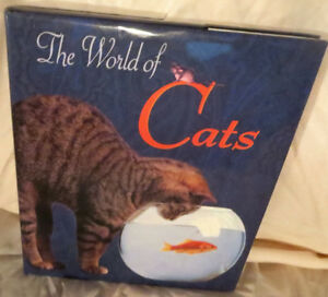 ► ►The World of Cats - Hardcover Book◄ ◄