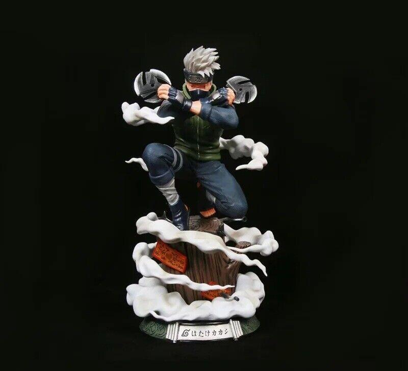 Anime Naruto Shippuden Darts Hatake Kakashi PVC Figure Statue New In Box