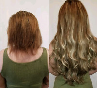 $280 FALL SPECIAL MICROLINK/TAPE IN HUMAN HAIR EXTENSIONS 170G