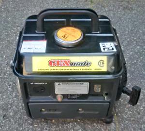 Génératrice Portable 950 watts  2 temps À Voir!
