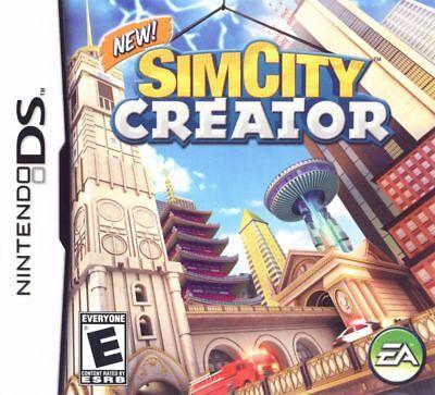 Simcity Creator   Jeux Nintendo Ds   Complet   Cib