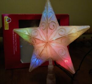 STAR TREE TOPPER - LIGHTED