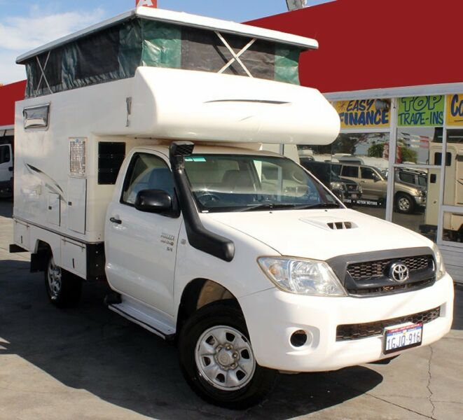 Toyota Hilux Expedition V1 Camper Price >> Toyota Hilux Expedition V1 Camper Hiconsumption | Autos Post