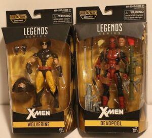 Marvel Legends X-men Wolverine Deadpool