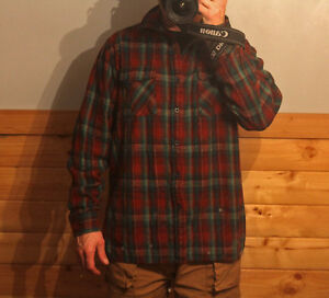 Ascent flannel shirt. Size large. Rarely used. Asking $8.