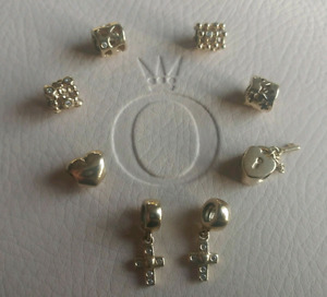 Authentic Gold Pandora Charms (almost all retired)