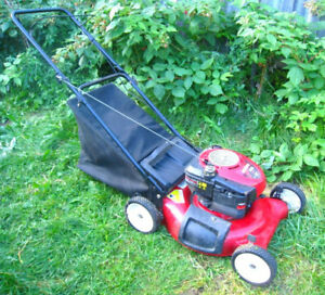 "Slightly used 6.5 HP 21"" 4-stroke 3-in-1 Craftsman Gas Lawnmower"