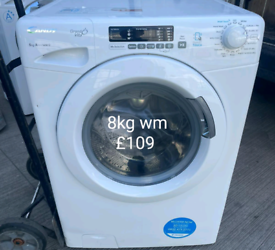 Candy 8kg washing machine free delivery in Leicester