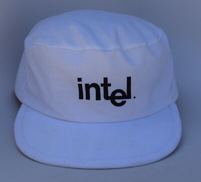 Intel Computer Technology One Size Fits All  Snapback Flat-Top Baseball Cap (Flat Top Computer)