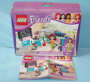 LEGO FRIENDS no 3933, L'ATELIER D'INVENTION de OLIVIA