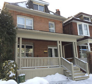 Renovated home minutes to downtown on main bus route