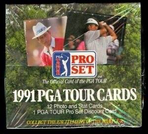 GOLF ...... 1991 ...... and 1992 ...... Pro Set boxes