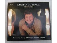 3 CD's of Michael Ball - Encore