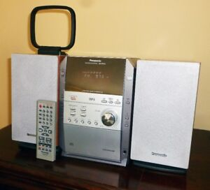 Panasonic - SC-PM19 - Micro System with 5 CD Changer