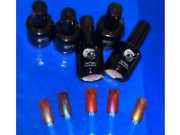 Bundle of 5 Gel polish new and nail art decorations