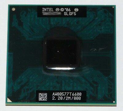 Intel 2,2 Ghz Mobile (Intel Core 2 Duo Mobile T6600 2200 MHz (2,2GHz) SLGF5 Prozessor CPU)