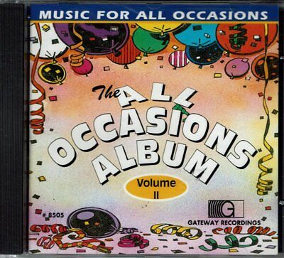 All Occasions Album Vol 2  Music for All Occasions   BRAND  NEW SEALED CD