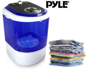 NEW PYLE ELECTRIC SMALL PORTABLE COMPACT WASHER, WASHING MACHINE