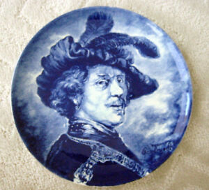 DELFT BOCH REMBRANDT PLATE EXCELLENT CONDITION