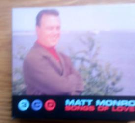 MATT MONRO songs of love 3 cd box set