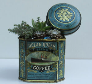 OCEAN QUEEN COFFEE TIN (Rustic-Charm Mississauga)