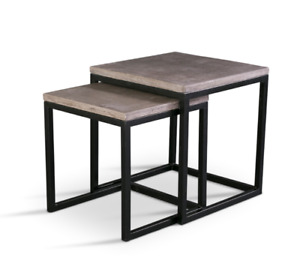 *BRAND NEW* The Urbia Stax CONCRETE TOP Nesting Tables