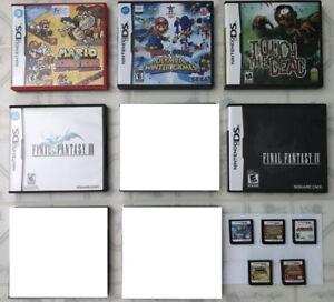 DS GAMES ! Poke. HeartGold/Poke.Conquest, Yoshi, Kirby, Marios