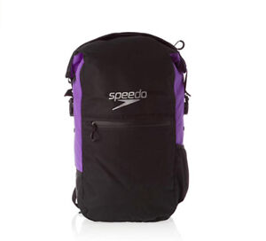 Speedo Team Rucksack III Max Black and Purple