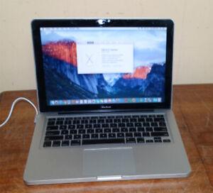 Apple Macbook PRO A1278 Core 2 Duo 250GB 4GB El Capitan Office