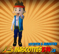 Animation de fête enfant PIRATE avec JAKE - MASCOTTE costume