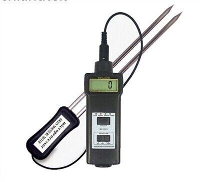 Mc-7821 Grain Moisture And Temperature Meter Tester Damp Wheat Corn Gn