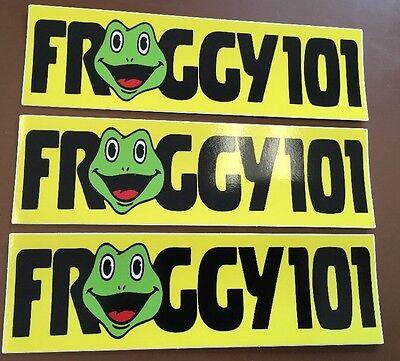 3x Froggy 101 Decal Desk Sticker THE OFFICE Dwight Schrute Michael Scott Lot Pam