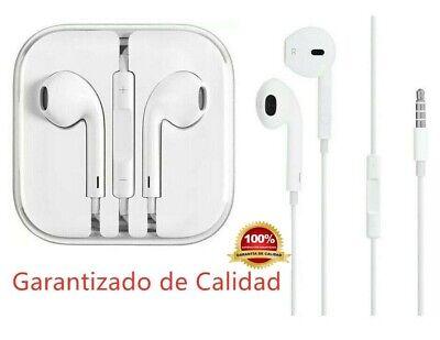 Auriculares iPhone con Micro para Moviles con Salida Jack 3.5mm Earpod Cascos
